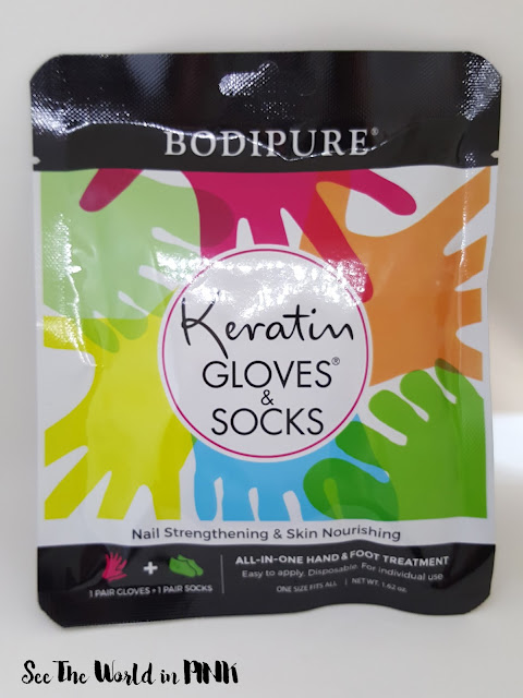 bodypure keratin gloves and socks