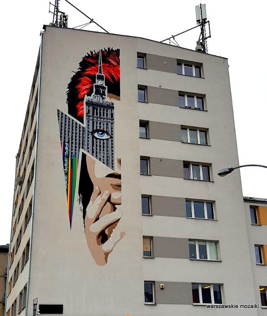 Żoliborz Potocka Marii Kazimiery blok graffiti Warszawa Warsaw ściana