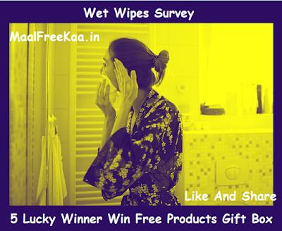 wet wipes survey