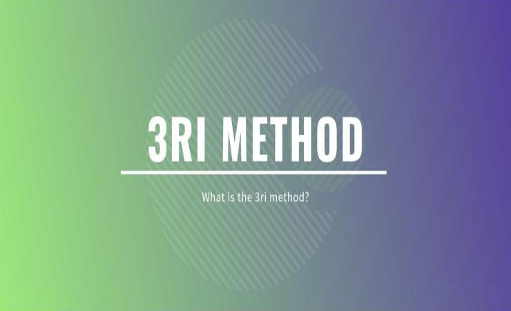 What is the 3ri method?