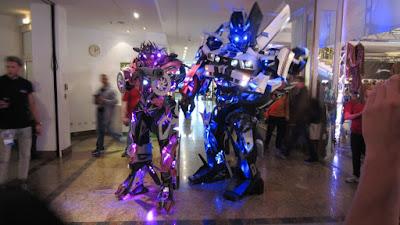 Transformer Cosplay Fedcon 2016