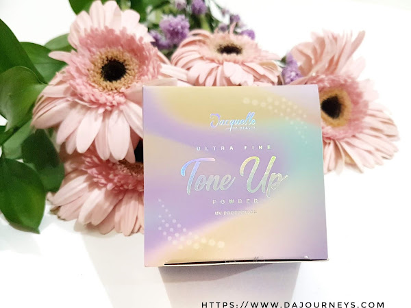 Review Jacquelle Ultra Fine Tone Up Powder