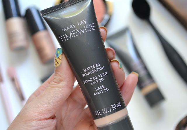 Mary Kay Timewise Matte 3D Foundation Review