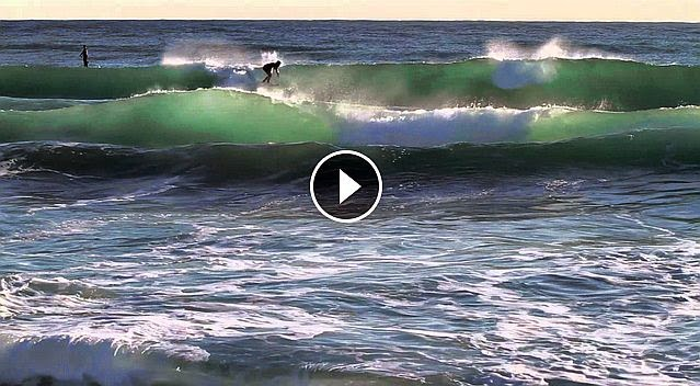 Barceloneta Surfing January 2015