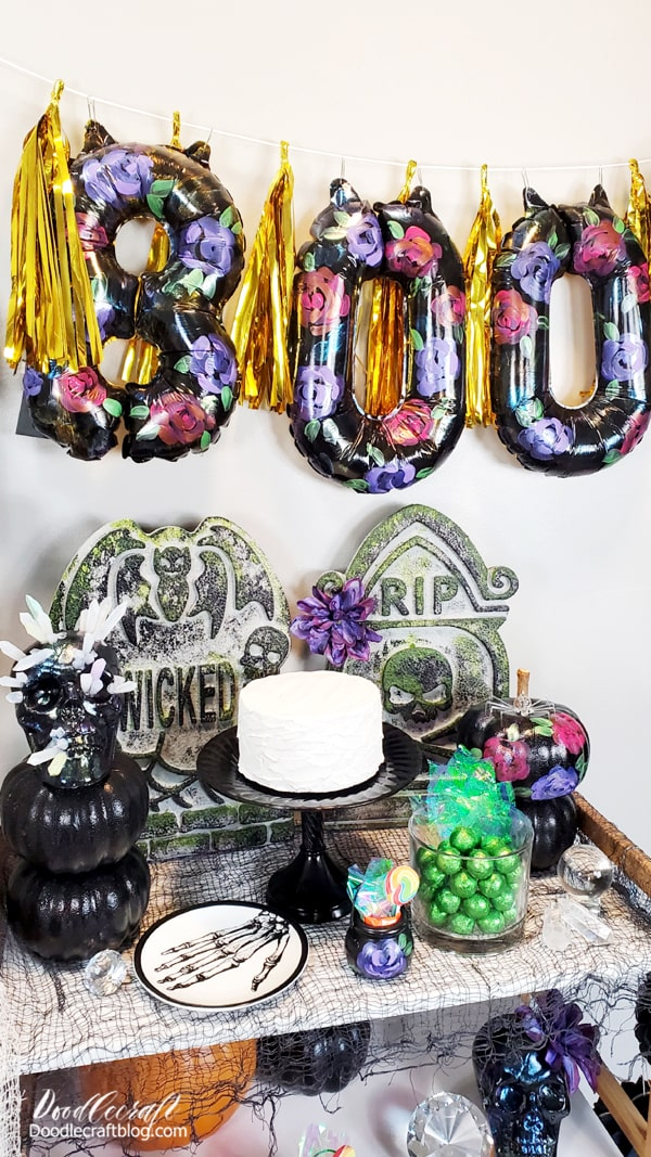 Then shop your house! Find things around your house that match the theme of the party. Serving bowls, plates, and other elements that you don't have to rush out and buy.