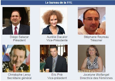 L'actuel bureau de la FFE - Photo © Chess & Strategy