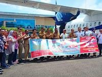 Dengan Route Baru Penerbangan PT. Trigana Air Serui Nabire Dan Serui Manokwari