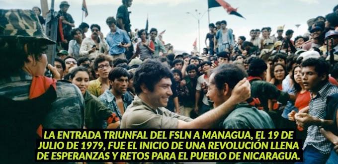 40 Aniversario: Diez hitos de la Revolución Sandinista