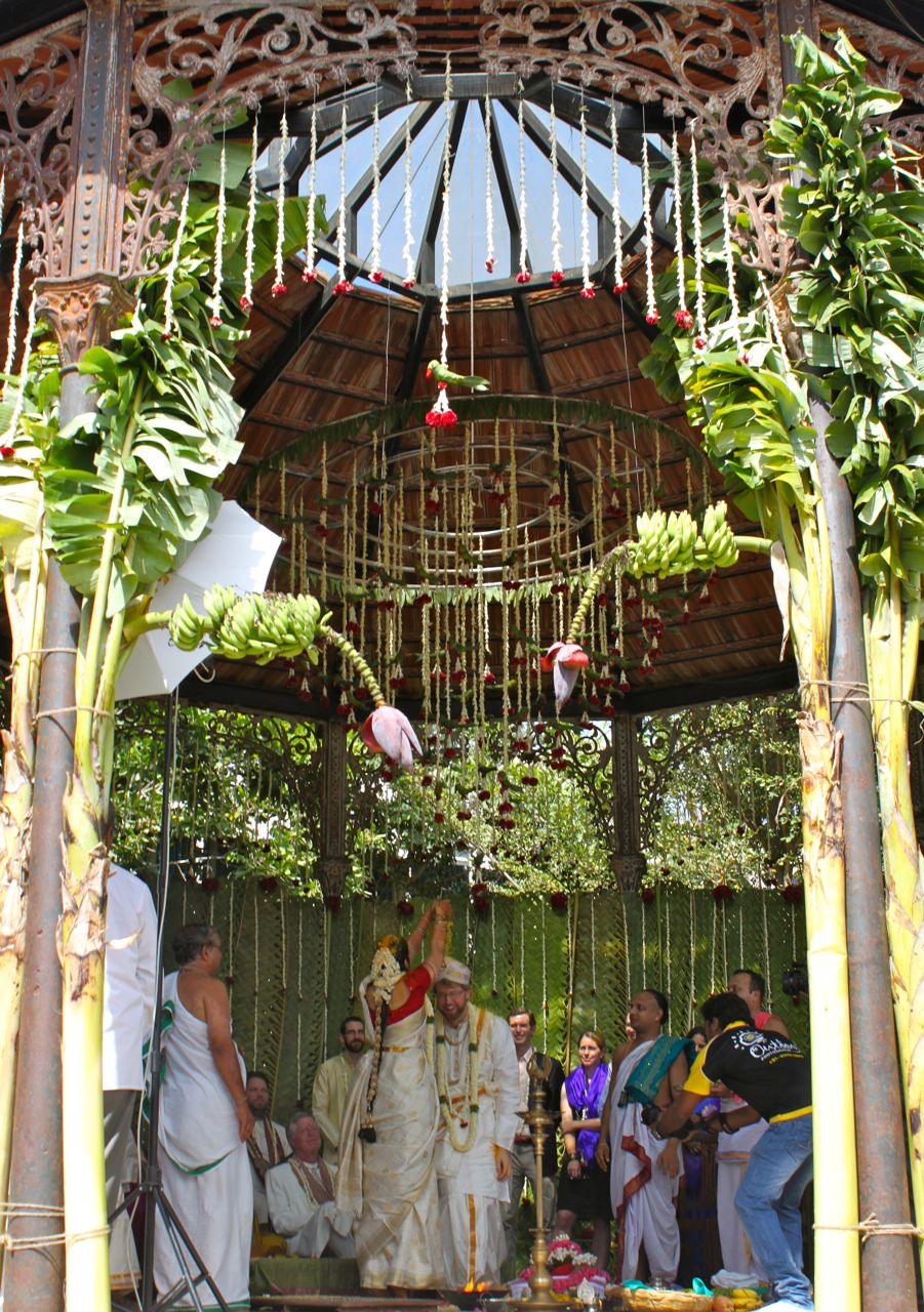 Banana Tree Wedding Decoration