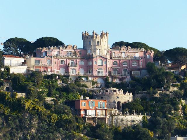 Passeio no Le Chateau de Nice