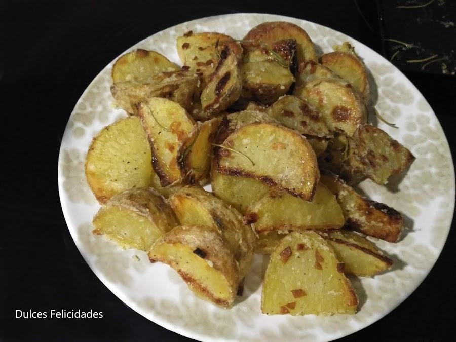 Patatas tipo deluxe (McDonalds) al horno