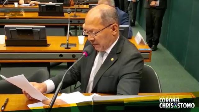 Deputado Coronel Chrisostomo alinhado com Bolsonaro: Não à taxação do sol!