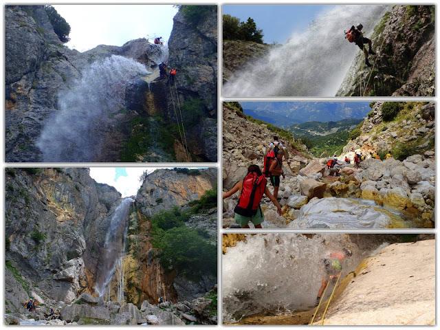 Άρτα: Ο καταρράκτης της Άρτας...Οι πηγές του βρίσκονται κάτω από την κορυφή Γερακοβούνι (2210μ) που ανήκει στον ορεινό όγκο των Τζουμέρκων