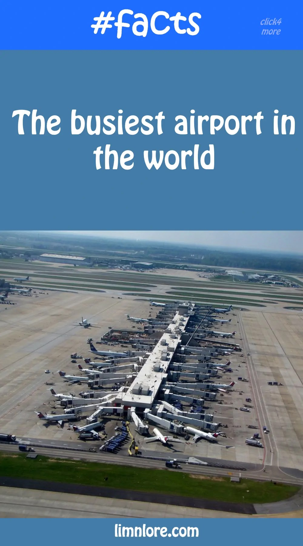 the Busiest airport in the world facts