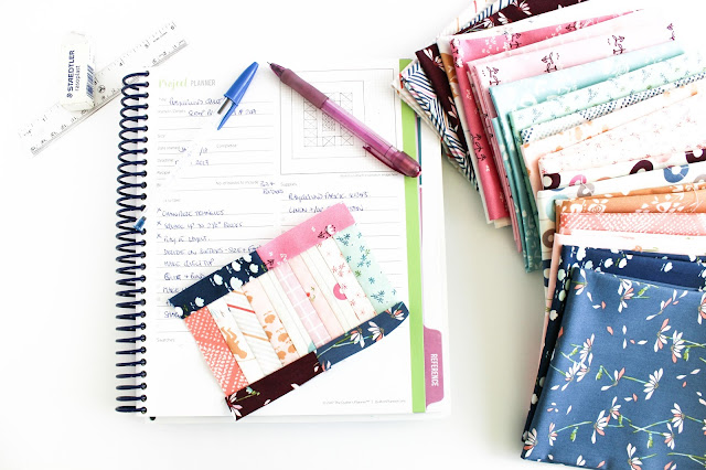 Quilter's Planner | Ultimate gift guide for the modern quilter in your life | Books, Gift Cards, Tools & Notions are just some of the categories covered in these Christmas gift ideas