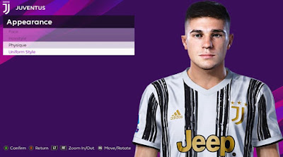 PES 2020 Faces Luca Zanimacchia by Rachmad ABs