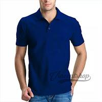 Kaos Polo Shirt Pria Warna Benhur