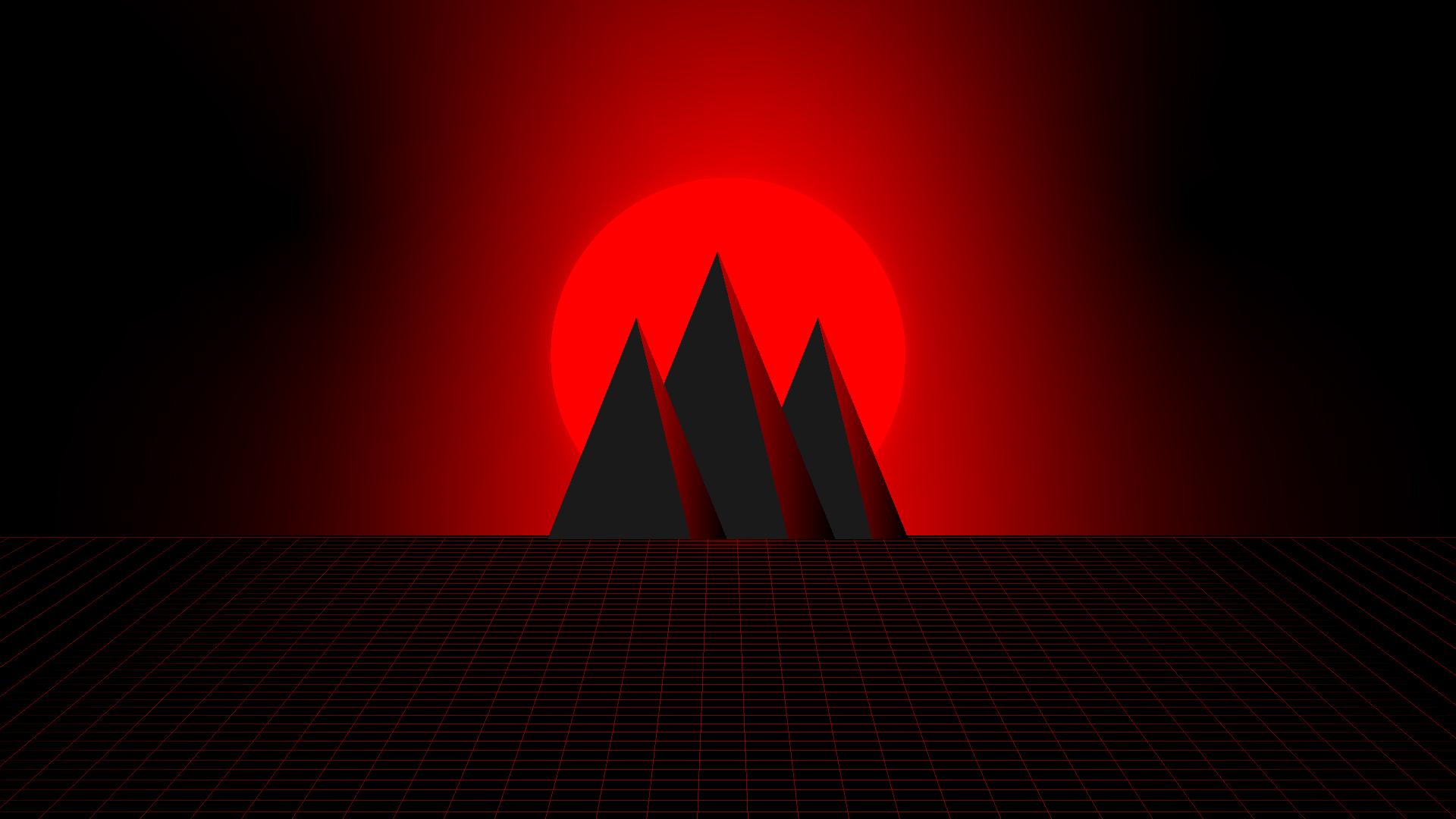 Wallpaper Red Hd Synthwave 4k 8k Heroscreen Cool Wallpapers