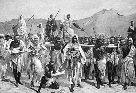weißer sklavenhandel in nordafrika