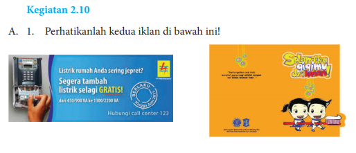 Jawaban Buku Bahasa Indonesia Kelas 8 Kegiatan 2.10 Hal 55 ...