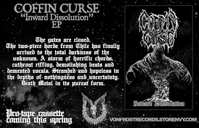 Coffin Curse - Inward Dissolution pro cassette