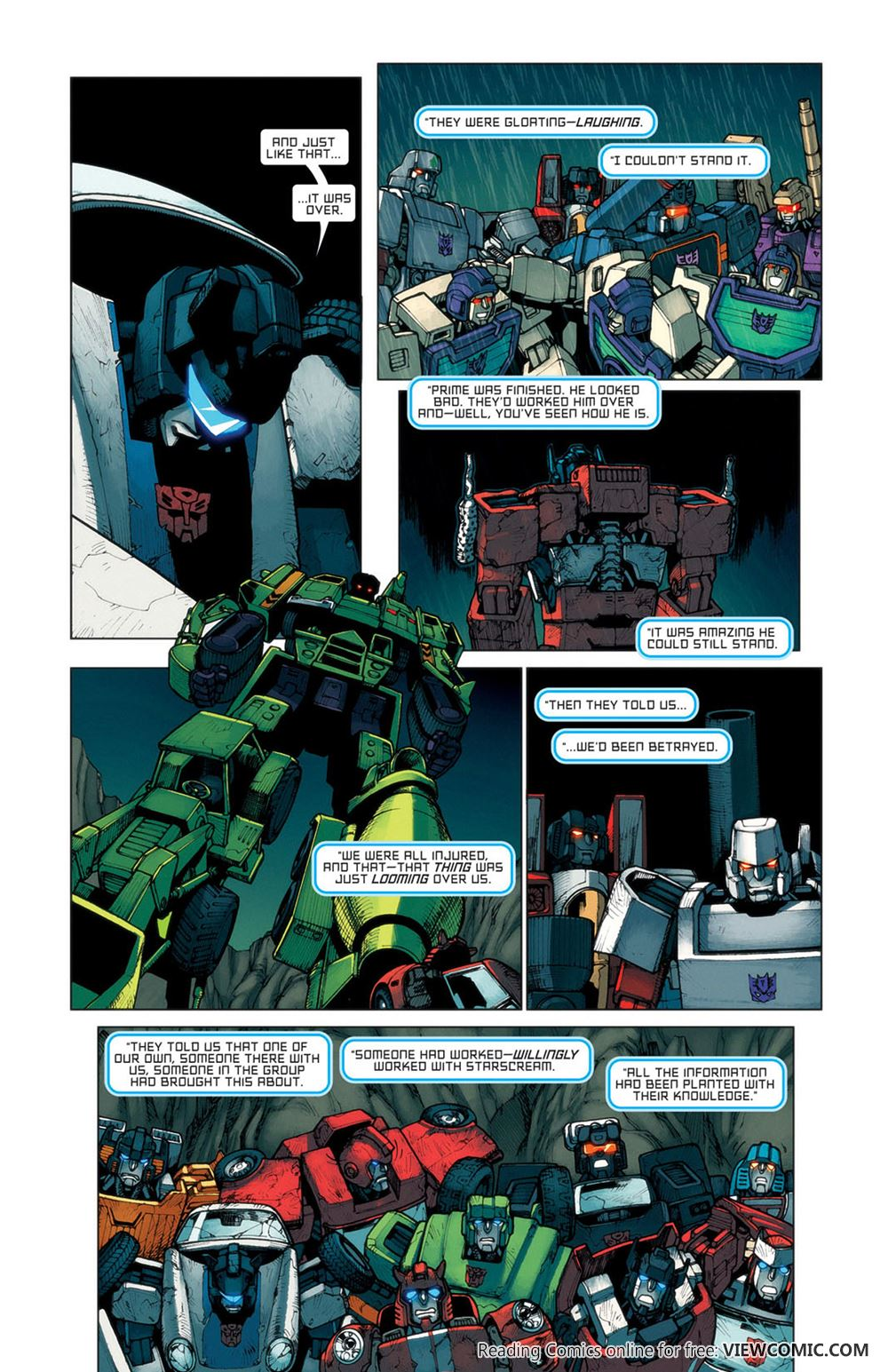 The Transformers – All Hail Megatron 007 (2008) | Viewcomic
