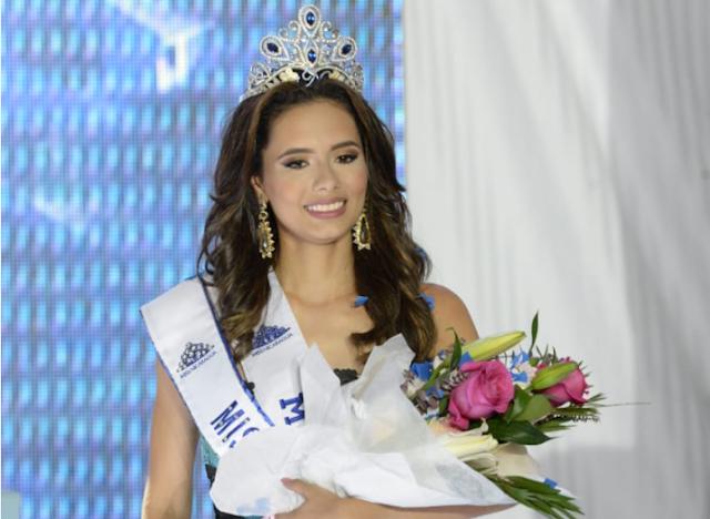 La nueva Miss Nicaragua 2019  es Inés López de Managua