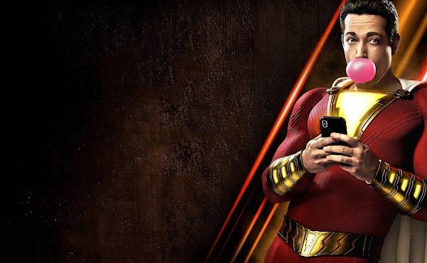 'Shazam!: Fúria dos Deuses': Adam Brody provoca mais cenas de ação em família