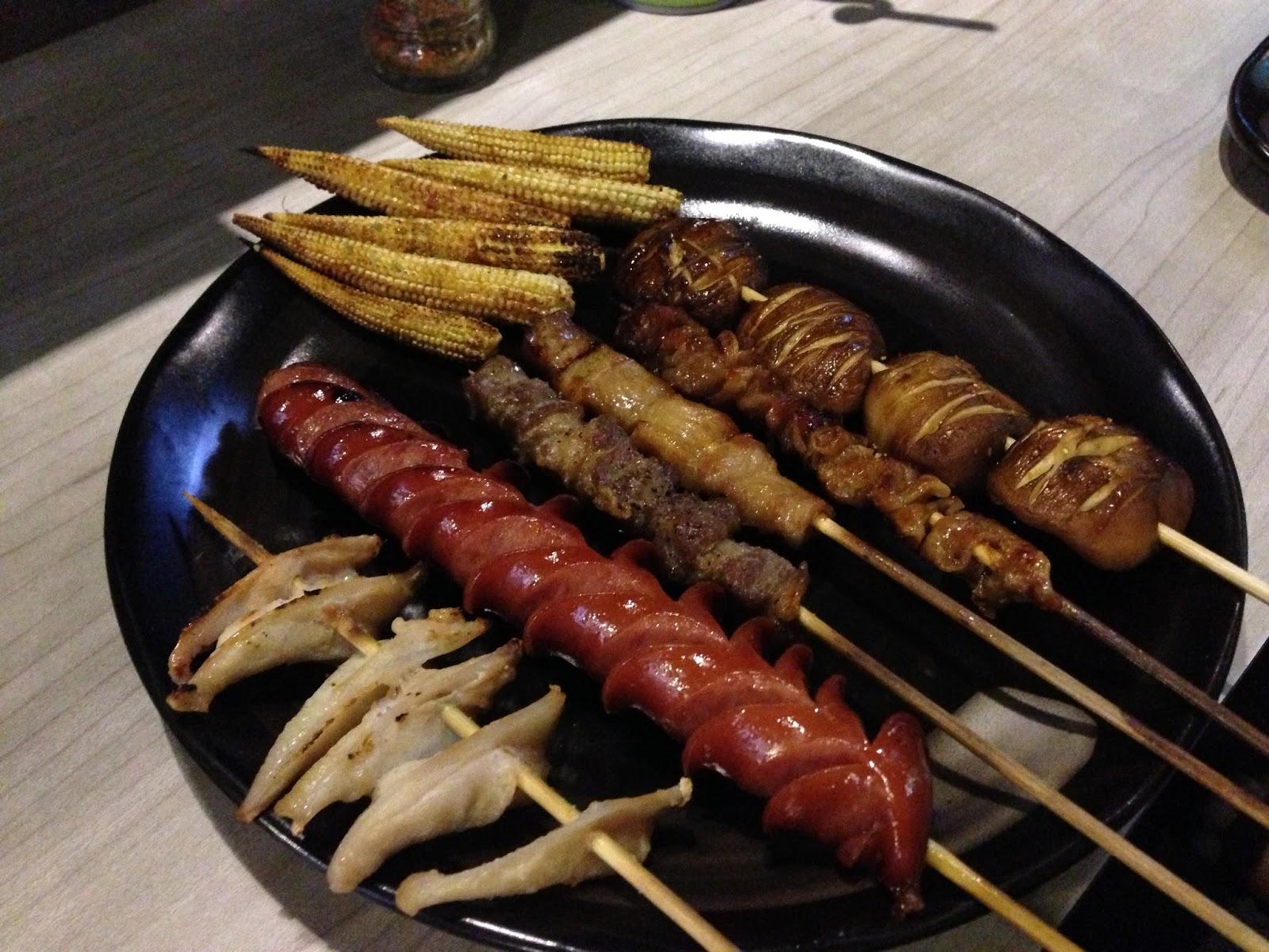 阿北@食話實說: [臺北]一期一會串燒 - 平價美味好串燒