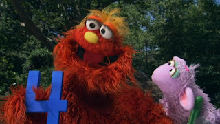 Murray and Ovejita, the number of day 4, Sesame Street Episode 4315 Abby Thinks Oscar is a Prince season 43