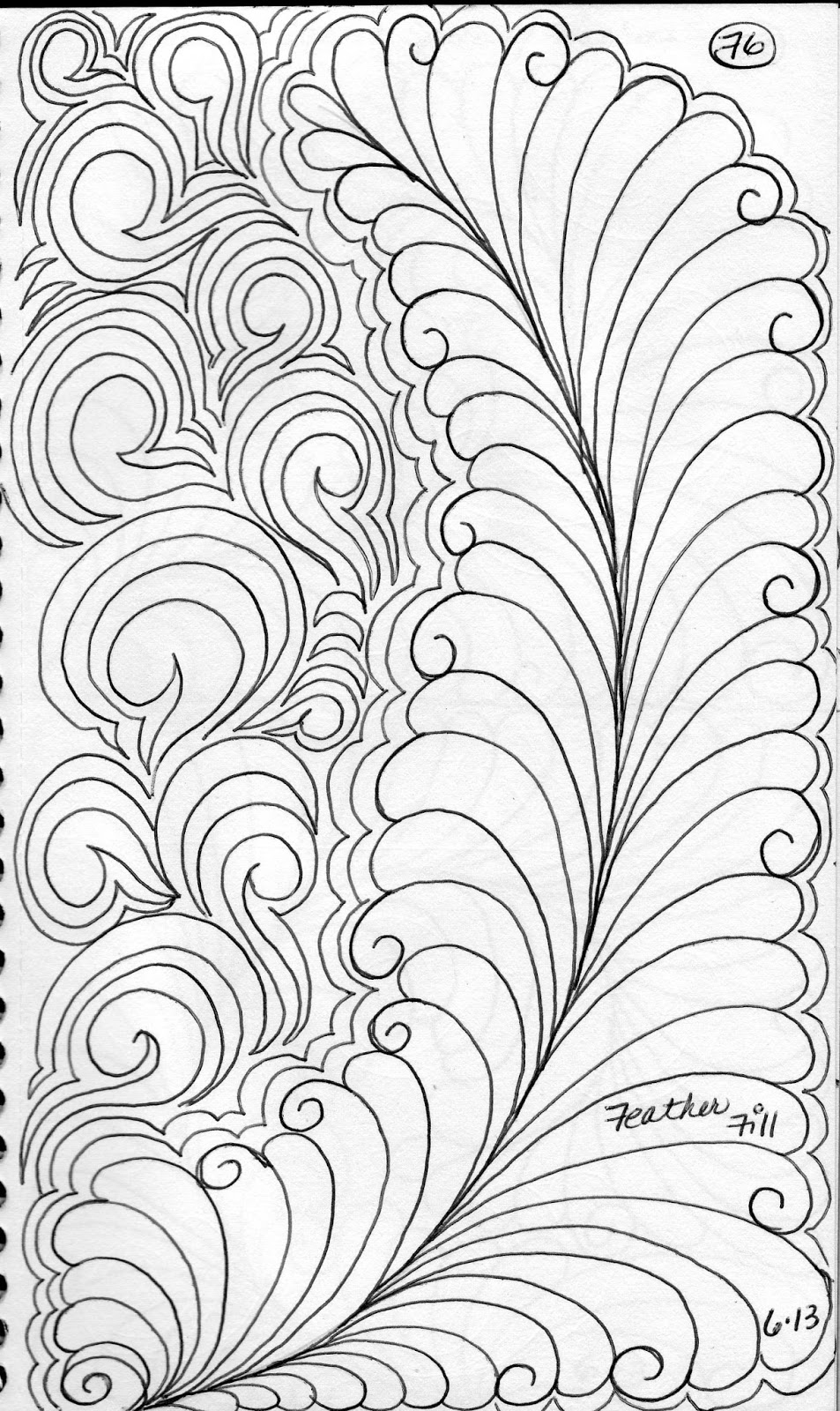 luann kessi  quilting sketch book