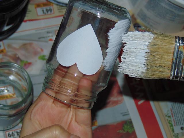jak zrobić świecznik ze słoiczka