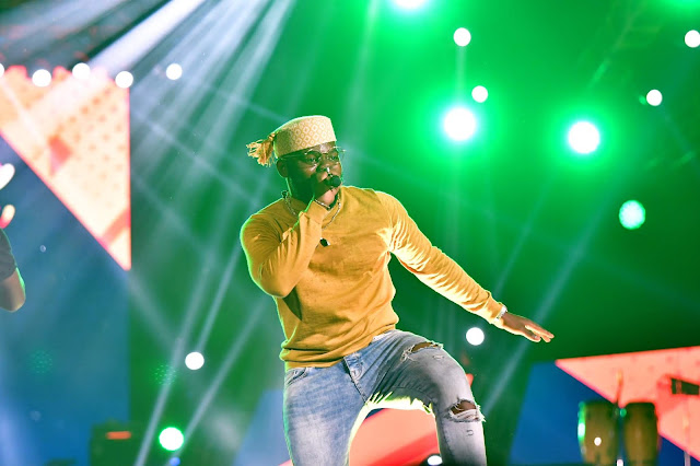 Tiwa Savage, Olamide, Burna Boy, Falz Light Up Eko Atlantic at Born In Africa Festival
