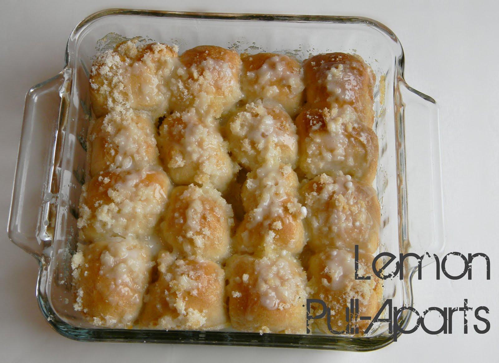 Mini Lemon Drizzle Loaf Cakes