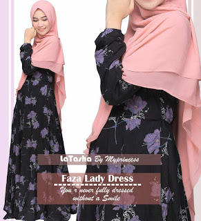 Gamis Latasha Faza Lady Dress