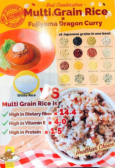 Fujiyama Dragon Curry - Multi Grain Rice