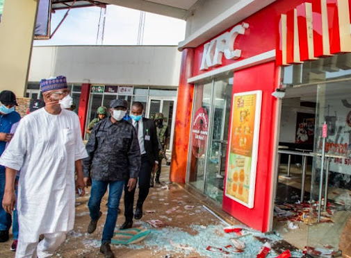 Kwara state pledges N500 million support to owners of looted stores