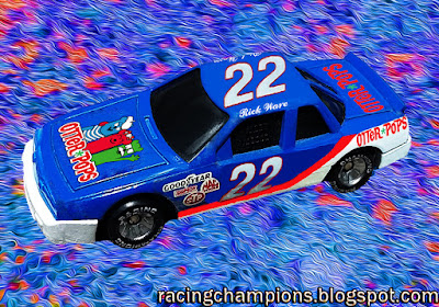 Rick Ware #22 Otter Pops Pontiac Racing Champions 1/64 NASCAR diecast blog 1990 Watkins Glen D.K. Ulrich