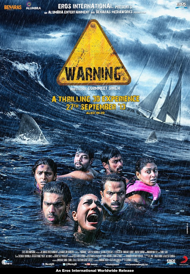Motion poster of WARNING movie- India's first underwater 3D Film revealed
