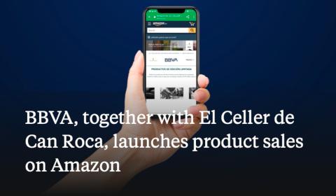 BBVA - Vente de produits sur Amazon