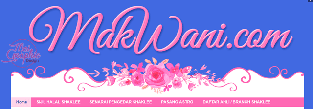 header blog cantik