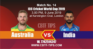 World Cup 2019 Match Prediction Tips by Experts Ind vs Aus