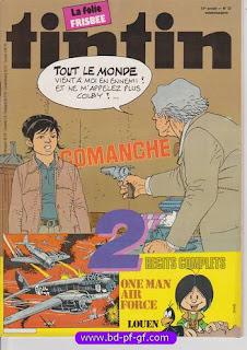 #Comanche, #Tintin