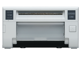The latest Mitsubishi Electric conception inwards digital sublimation printing Mitsubishi CP-D80DW Driver Download
