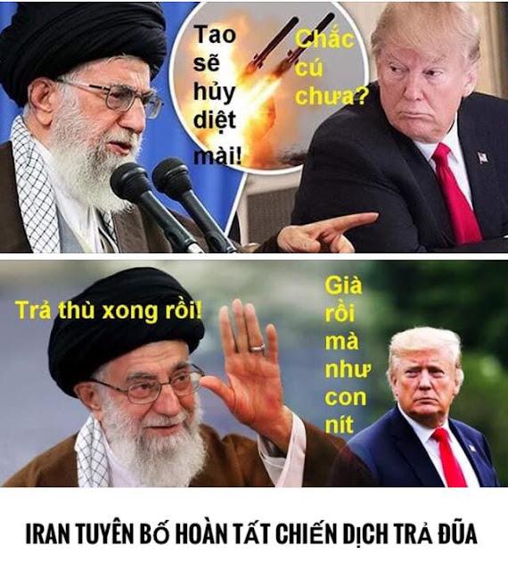 Iran tuyên bố hoàn tất chiến dịch trả đũa Mỹ, nhấn mạnh không muốn leo thang căng thẳng