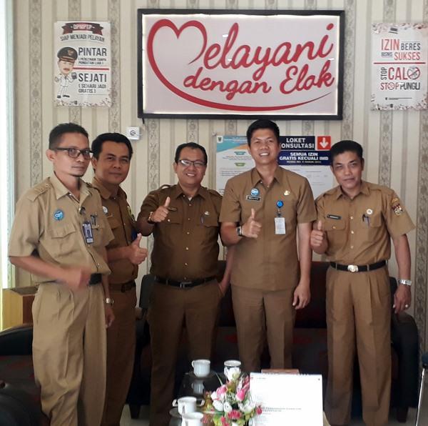 Terus Berinovasi, DPMPTP Padangpariaman Dikunjungi Perizinan Luar Provinsi