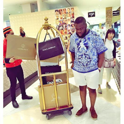 wp 1504044187085 - ENTERTAINMENT: Excited Hushpuppi Shares Phot Of Students Apartment Named After Him