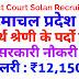 हिमाचल प्रदेश में चतुर्थ श्रेणी के पदों पर सरकारी नौकरी District court Solan recruitment 2019
