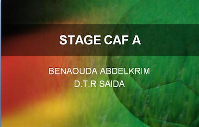 Résumé PDF stage CAF A