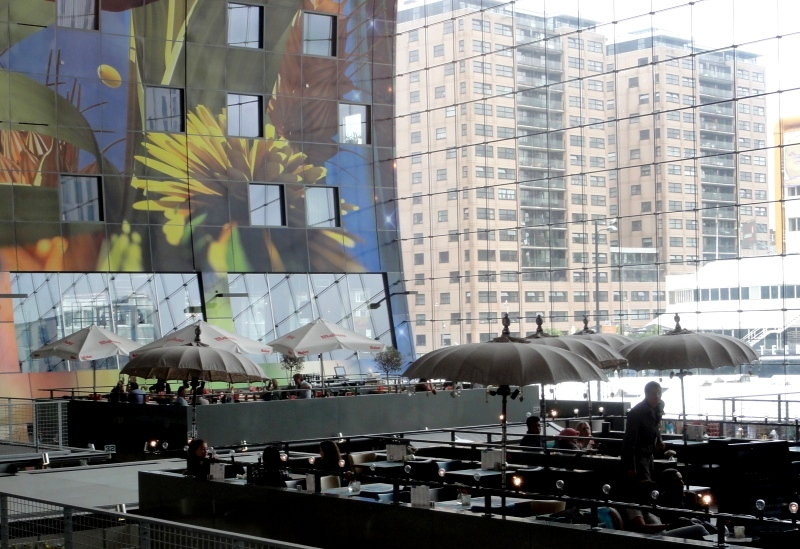 markthal rotterdam netherlands rooftop terraces